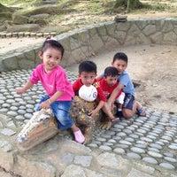 Photo taken at Fu Shan Garden 福山公园 by Norisah N. on 1/6/2013