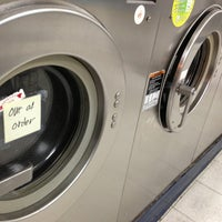 Photo taken at Spin Cycle Coin Laundry by Kristen M. on 2/8/2013