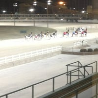 Photo taken at Maywood Park Racetrack by Penelope S. on 1/4/2013