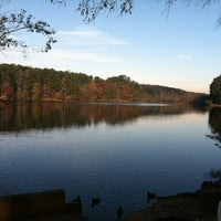 Photo taken at Murphey Candler Park by Preston E. on 11/24/2012