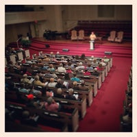 Photo taken at First Baptist Church of Tallahassee by Jeff L. on 2/6/2015