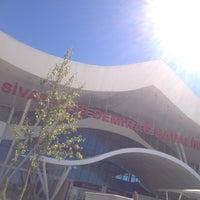Photo taken at Sivas Nuri Demirag Havaalani (ic hatlar) by Batuhan S. on 9/16/2012