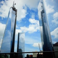 Photo taken at One World Trade Center by Teresa d. on 5/7/2013