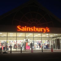 Photo taken at Sainsbury's by Helen M. on 2/19/2013
