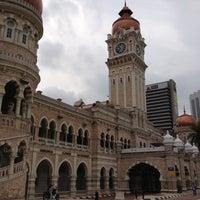 Photo taken at Bangunan Sultan Abdul Samad by Vera C. on 11/11/2012