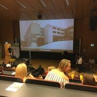 Photo taken at FH Oberösterreich - Fakultät für Informatik, Kommunikation und Medien by Angsana G. on 9/23/2016