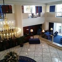 Photo taken at Gran Hotel Princesa Sofía by Ken H. on 2/24/2013