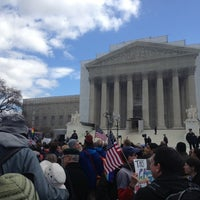 Photo taken at Supreme Court of the United States by Tom A. on 3/27/2013