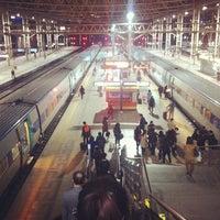 Photo taken at Seoul Station - KTX/Korail by Jung Min C. on 2/28/2013