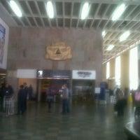 Photo taken at Aeropuerto Internacional Alejandro Velasco Astete (CUZ) by David R. on 9/28/2012