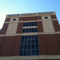 Photo taken at Boone Pickens Stadium by Alexis H. on 10/8/2012