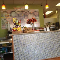 Photo taken at Tropifruit 100% Natural Juice Bar by T.J N. on 6/13/2013