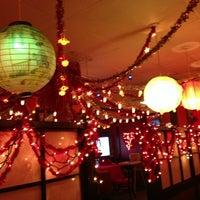 Photo taken at Samurai Japanese Steak House by Lori Y. on 2/24/2013