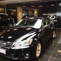 Photo taken at McGrath Lexus of Westmont by Kristen J. on 10/3/2012