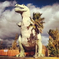 Photo taken at Cabazon Dinosaurs by Shana R. on 12/27/2012