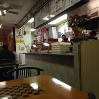 Photo taken at Tonys new york pizza by Adam C. on 1/18/2014
