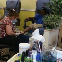 Photo taken at Queen Nails by Kiara D. on 6/1/2013