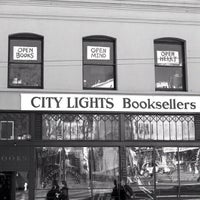 Photo taken at City Lights Bookstore by Anne M. on 12/3/2012