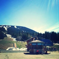 Photo taken at Whistler Blackcomb Mountains by Diego G. on 5/1/2013