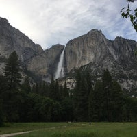 Photo taken at Lower Yosemite Falls by Yogesh B. on 5/30/2016