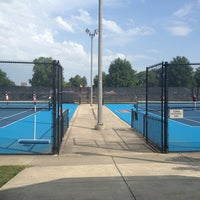 Photo taken at Atkins Tennis Center by C on 9/1/2013