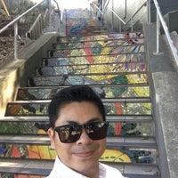 Photo taken at Hidden Garden Mosaic Steps by Kevin H. on 9/5/2016