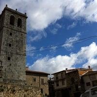 Photo taken at Miranda del Castañar by Carlos H. on 2/1/2014