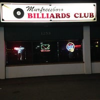 Photo taken at Murfreesboro Billiards Club by Rich H. on 5/31/2014