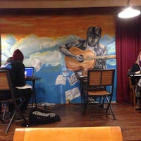 Photo taken at Campus Coffee Bean by Aaron M. on 12/9/2014