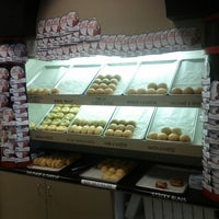 Photo taken at Kolache Factory by Felipe S. on 10/8/2012