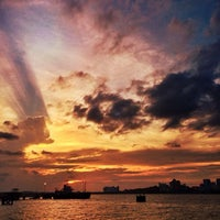 Photo taken at Woodlands Waterfront by Guosheng on 3/3/2013