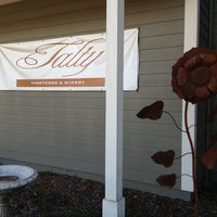 Photo taken at Talty Winery by Jason V. on 3/4/2013