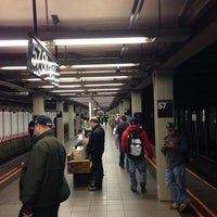 Photo taken at MTA Bus - 7 Av & W 57 St (M31/M57/X12/X14/X30/X42) by Alexander O. on 5/5/2013