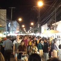 Photo taken at Chiangmai Walking Street by Nooch G. on 1/20/2013