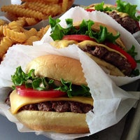 Photo taken at Shake Shack by Jay R. on 5/2/2013