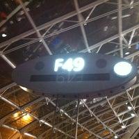 Photo taken at Gate F49 by Felipe B. on 10/19/2012