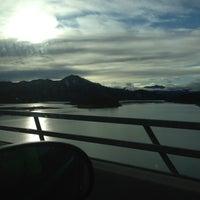 Photo taken at Pit River Bridge (VFW Memorial Bridge) by Barbara B. on 12/26/2012