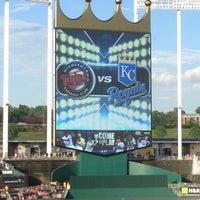 Photo taken at Kauffman Stadium by HMFW on 8/6/2013