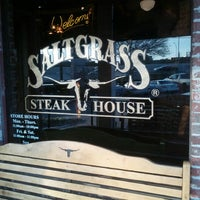 Photo taken at Saltgrass Steak House by Theron P. on 1/20/2013