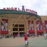 Photo taken at Angel Stadium of Anaheim by Michael S. on 7/21/2013