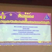 Photo taken at Dewan Hasil by Nurul A. on 12/4/2015
