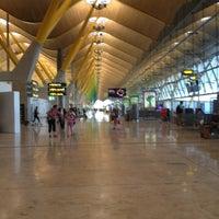 Photo taken at Terminal 4 by Alvaro A. on 7/7/2013