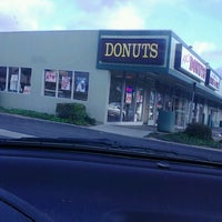Photo taken at AK's Donuts by Darrell R. on 4/16/2013