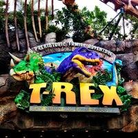 Photo taken at T-Rex Cafe by Michael B. on 2/7/2013
