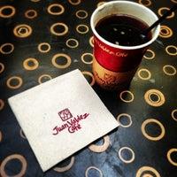 Photo taken at Juan Valdez Café by Sergio J. on 1/4/2013