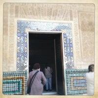 Photo taken at La Alhambra y el Generalife by Marina T. on 1/8/2013