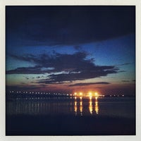 Photo taken at Rockaway Beach by JiaJia F. on 8/10/2013