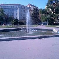 Photo taken at Moravské náměstí by Zdenek H. on 9/30/2012