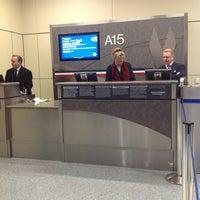 Photo taken at Gate A15 by Daniel M. on 1/14/2013