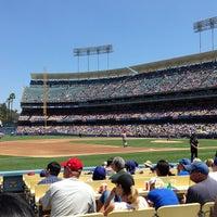 Photo taken at Dodger Stadium by Victor B. on 7/28/2013